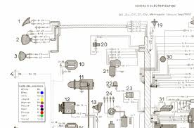 citroen engine schematics citroen wiring diagrams instruction