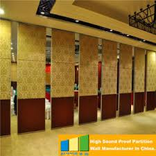 Movable Wall Partitions China Operable Restaurant Sliding Partition Movable Walls Made By