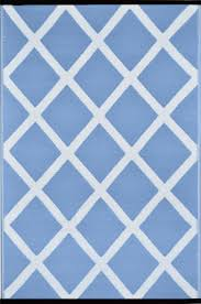 powder blue powder blue and white indoor outdoor rug green decore