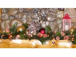 Decorating For Christmas With Lanterns by Christmas Mantel Decorating Ideas River Lodge Interiors