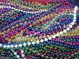 colors for mardi gras 200 mardi gras bulk lot necklaces free shipping party favors