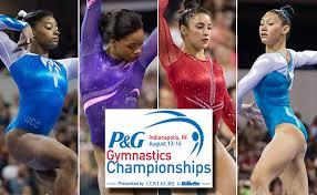 Desert Lights Gymnastics World Olympic Champions Biles Douglas Raisman Ross Highlight