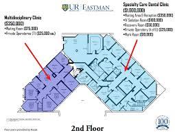 Dental Clinic Floor Plan Eastman Institute For Oral Health University Of Rochester