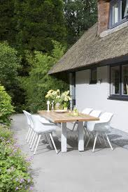 contemporary table and chair set aluminum resin garden