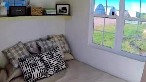 escape vintage tiny house with 1st floor bedroom youtube