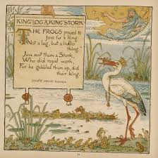 5 king log and king u0027s stork baby u0027s own aesop walter crane