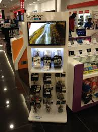 creative point of sale display go pro search industrial