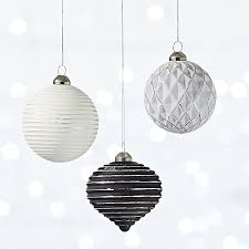 glow 3d ornaments cb2