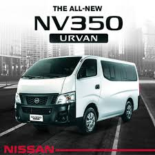 nissan urvan seat the all new nissan nv350 urvan packs a 2 5 liter diesel engine