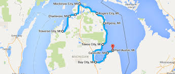 Bay City Michigan Map by 10 Places You Can Go On One Tank Of Gas In Michigan