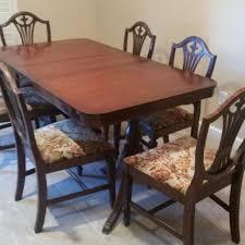 Duncan Phyfe Dining Room Set Best Family Estate Sale Duncan Phyfe Style Dining Table For Sale