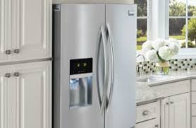 Cabinet Depth Refrigerator Reviews Frigidaire Gallery 22 2 Cu Ft Counter Depth Side By Side