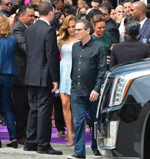 Home Jennifer Lopez by Jennifer Lopez With Her Kids And Casper Smart At La Premiere Of