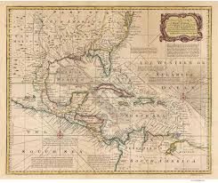Map Of The Carribean Old Maps Of The Caribbean
