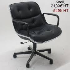fauteuil bureau knoll fauteuil knoll pollock