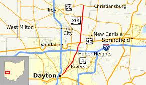 Map Of Dayton Ohio by Ohio State Route 201 Wikipedia
