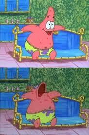 Patrick Meme Generator - patrick sleeping blank template imgflip