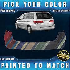 honda odyssey rear bumper odyssey rear bumper cover ebay