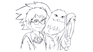 draw harry potter vcdesenhos deviantart