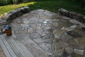 Dry Laid Flagstone Patio Rocksmith Stone Creations