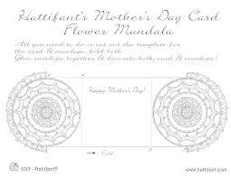 flower mandala mother u0027s day card hattifant