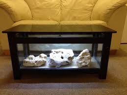 Display Coffee Table Fish Coffee Table