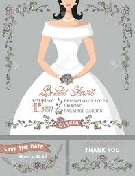 bridal shower invitations card design idea for party registaz com