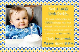 first birthday thank you cards ideas best 25 birthday thank you