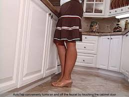 kitchen faucet foot pedal operation autotap fauset