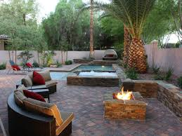 backyard patios and fire pit home outdoor solutions newest cute