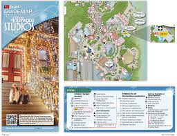 Disney World Maps April 2016 Disneys Hollywood Studios Guide Map With Backlot Area