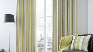 Yellow Striped Curtains Interesting Yellow Striped Curtains And Cabana Stripe Yellow In