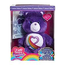 amazon play care bears rainbow heart 35th anniversary