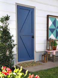 can you use an existing door for a barn door how to turn a plain door into a barn door diy