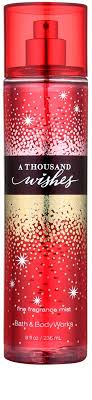 a thousand wishes bath works a thousand wishes spray for women 236 ml