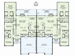 corner lot floor plans duplex floor plans inspirational e level duplex house plans corner