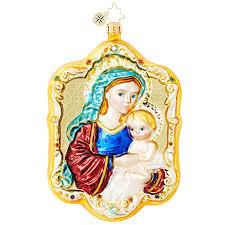christopher radko ornaments 2016 radko and child ornament