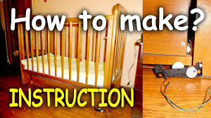 How To Make Swing Bed by How To Make Simple Automatic Cradle Mechanism Of Automatic Swing