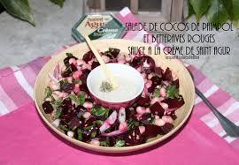 cuisiner les cocos de paimpol salade de cocos de paimpol et betteraves rouges sauce a la creme de