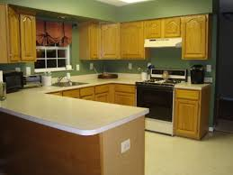 paint colors for kitchens with golden oak cabinets modern