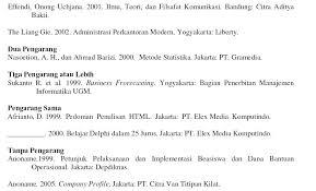 panduan penulisan daftar pustaka dari jurnal cara menulis daftar pustaka secara sah