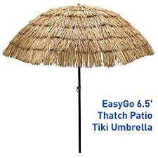 Tiki Patio Umbrella Bayside21 9 Cranking Hula Thatched Tiki Patio