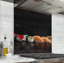 fond de cuisine acheter fond de hotte épices blanc crédence de cuisine verre de