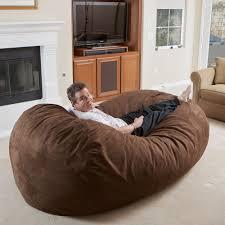 dorm room bean bag chairs comfort cloud jumbo dorm foam filled