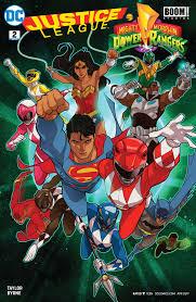 justice league justice league power rangers 2017 2 comics by comixology