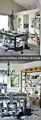 Dining Room Decorating Ideas by Best 25 Industrial Dining Rooms Ideas Only On Pinterest