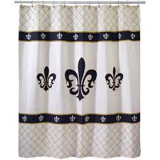 Fleur De Lis Bathroom Avanti Luxembourg Fleur De Lis Shower Curtain