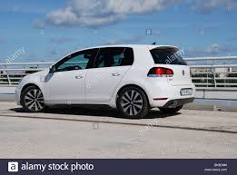 white volkswagen golf volkswagen golf vi gtd 2009 white five doors 5d german