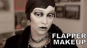 spooky flapper makeup halloween tutorial trinaduhra youtube