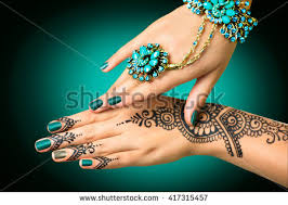 mehndi tattoo isolated on white woman stock photo 313771139